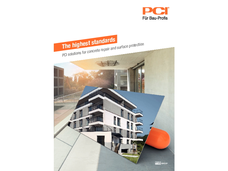 The highest standards: PCI solutions for concrete repair and surface protection