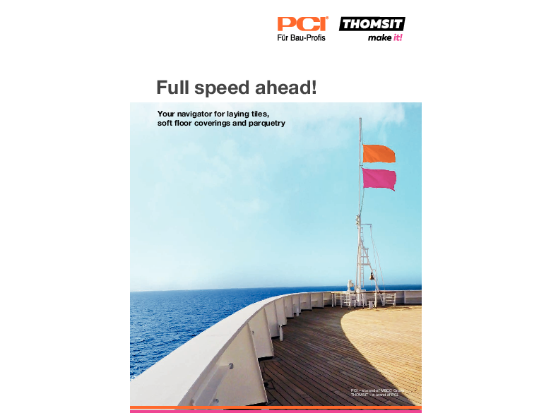 Ship brochure - Full speed ahead!