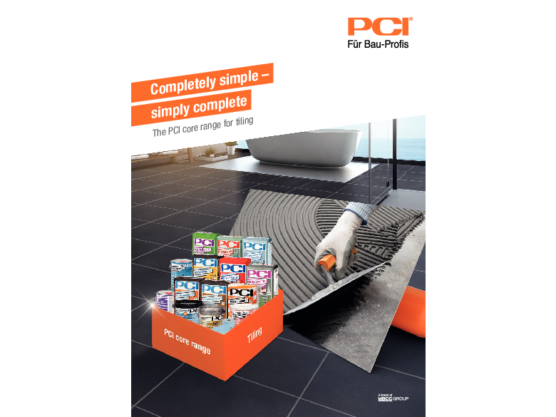 Completely simple - simply complete - The PCI core range for tiling