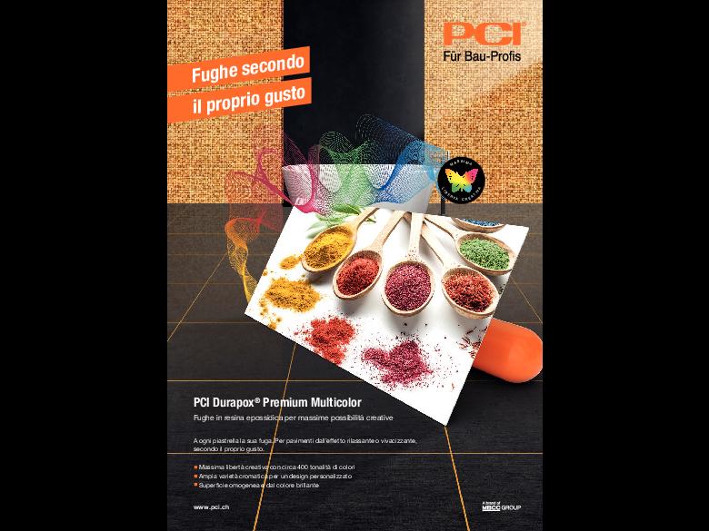 Flyer PCI Durapox Premium Multicolor