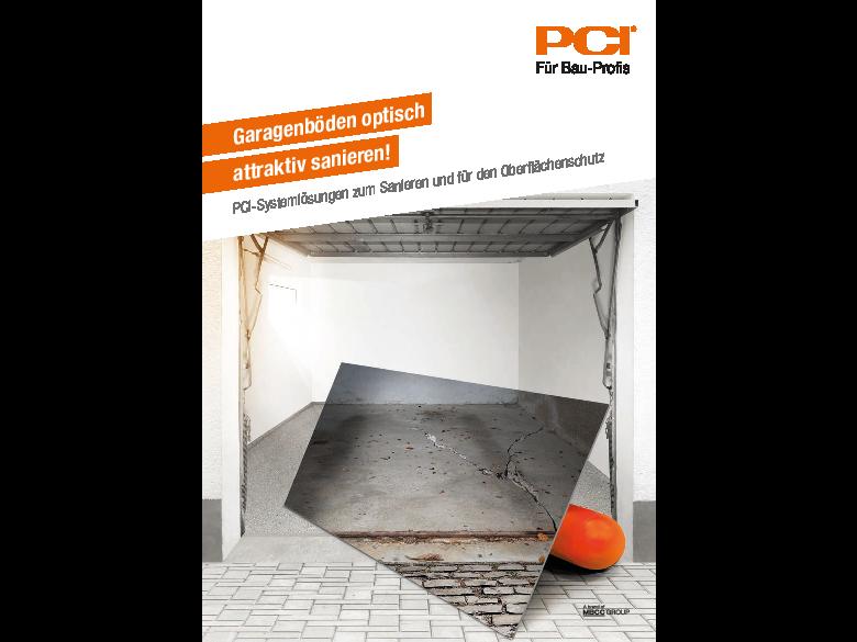 Garagenböden optisch attraktiv sanieren!