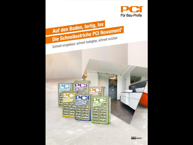 Auf den Boden, fertig, los: Die Schnellestriche PCI Novoment