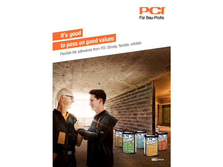 Brochure - Flexible tile adhesives from PCI