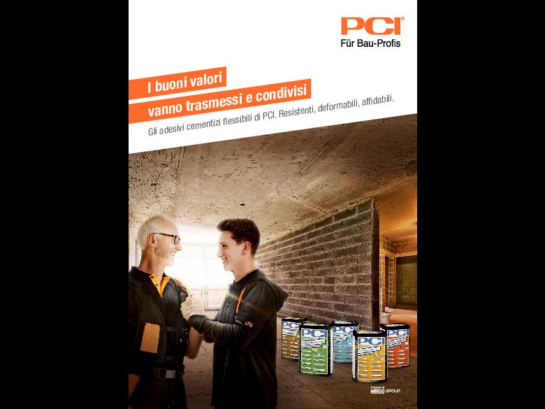PCI Flexmörtel Linie – I buoni valori vanno trasmessi e condivisi