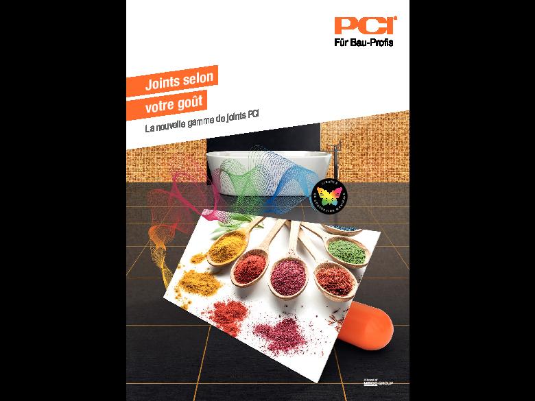 La nouvelle gamme de joints PCI: Joints selon votre goût
