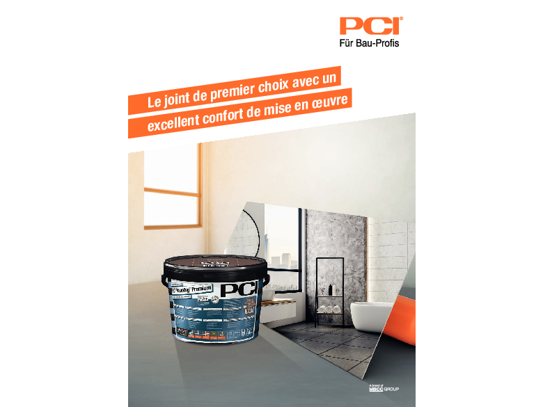 PCI Nanofug Premium - Le joint de premier choix avec un excellent confiort de m