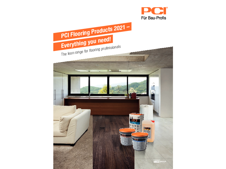 PCI Flooring Products 2021 – Everthing you need!