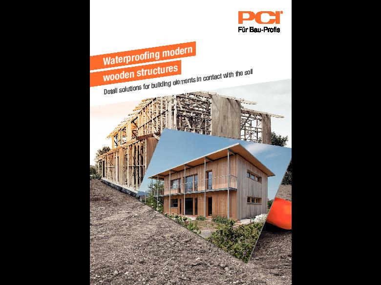 Waterproofing modern wooden structures