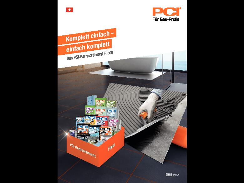 PCI-Kernsortiment Fliese - Broschüre