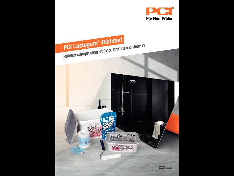 PCI Lastogum® -Dichtset
