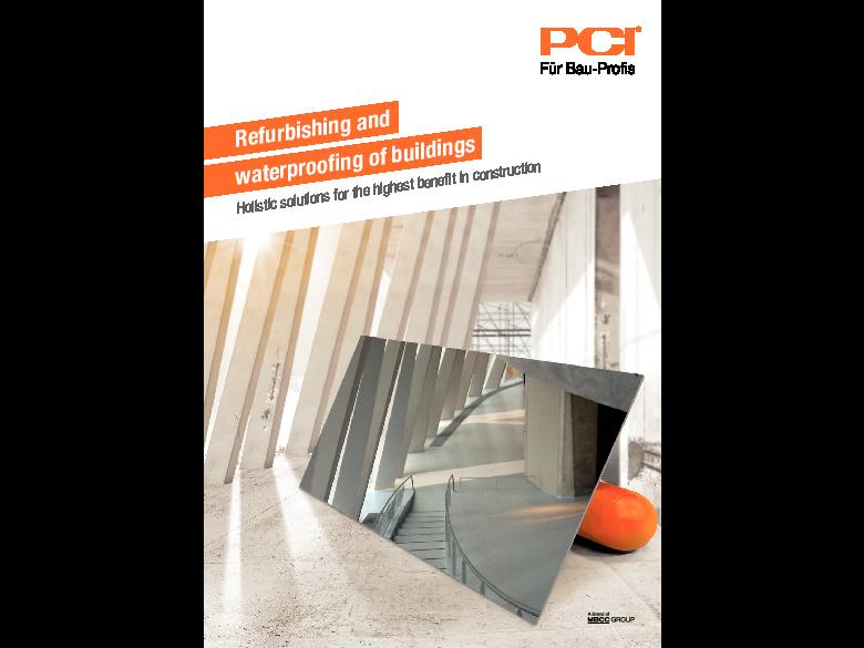Refurbishing and waterproofing of buildings